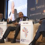 Ibrahim Mayaki, CEO, New Partnerships for Africa's Development and Nkosana Moyo Founder and Executive Chair, Mandela Institution of Development Studies