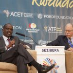 Richard Sezibera, Secretary General, East African Community with Richard NewFarmer, Country Representative, International Growth Centre